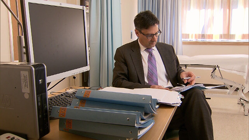 Dr. Anthony Traboulsee, medical director of the UBC Hospital MS Clinic, is seen in this image.
