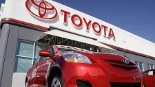 Toyota recalls vehicle overr faulty power windows