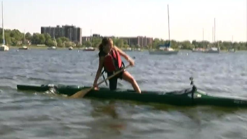 Sophie Marier, canoe racer