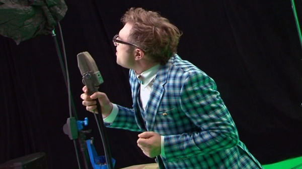 W5 gets an exclusive preview of Steven Page recording his latest music video.