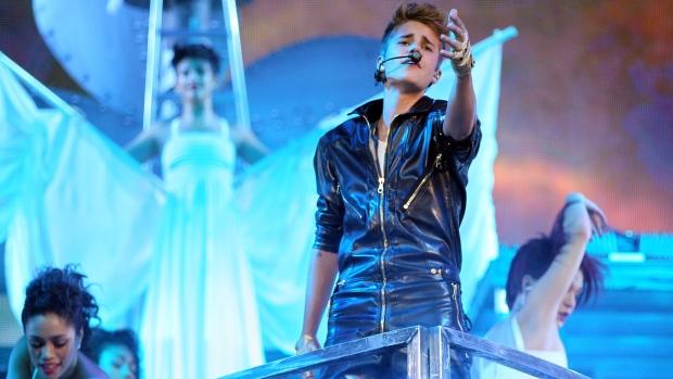 Musician Justin Bieber