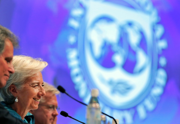 International Monetary Fund Christine Lagarde