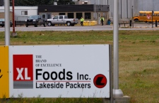 XL Foods plant in Brooks, Alberta