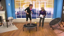 Canada AM: Libby Norris on trampoline use