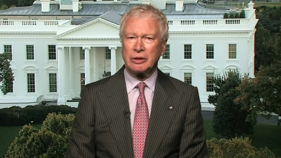 Ken Taylor, the former Canadian ambassador to Iran, speaks to Canada AM from Washington, Thursday, Oct. 11, 2012.
