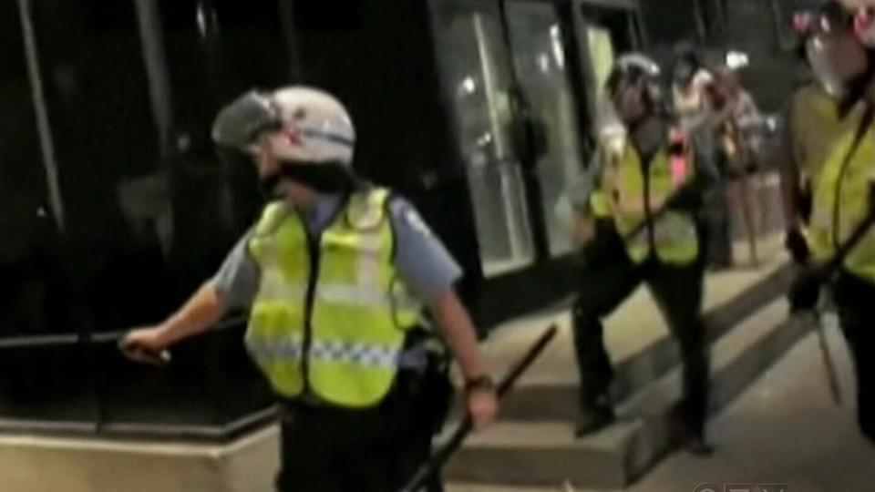 Officer 728, Stefanie Trudeau, is accused of violent behaviour.