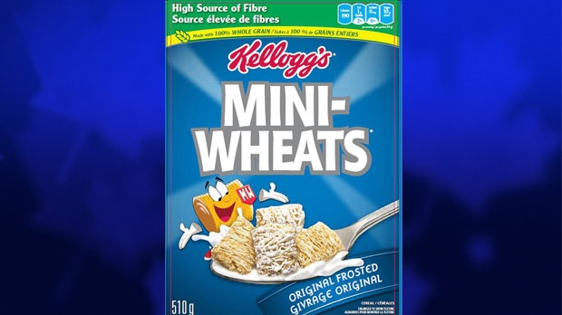 In Canada, the recalled cereals include Mini-Wheats Original Frosted cereal