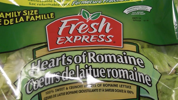 Hearts of Romaine salad recalled