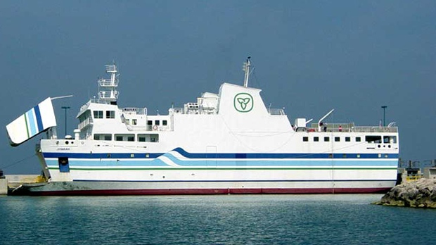 Jiimaan Pelee Island ferry