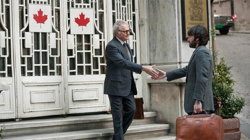 Victor Garber and Ben Affleck in Warner Bros. Canada's 'Argo'
