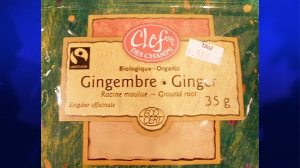 Clef Des Champs brand Organic Ground Ginger