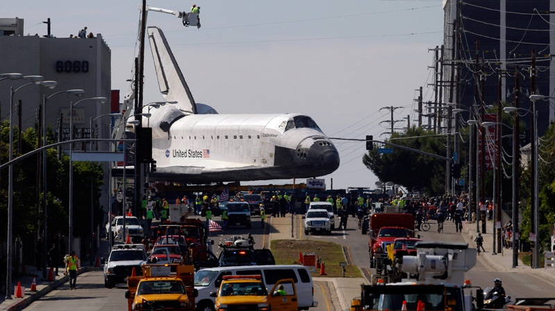 space shuttle in los angeles - photo #28