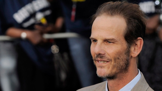 Peter Berg in Los Angeles on May 10, 2012.