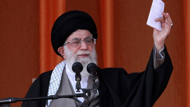 Ayatollah Ali Khamenei on Oct. 10, 2012.