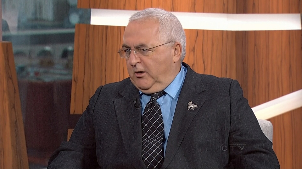 Ottawa city councillor Allan Hubley talks to CTV's Question Period about how to fight cyber bullying on Oct. 14, 2012.