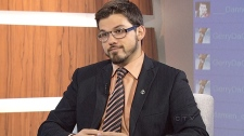 NDP MP Dany Morin speaks with CTV's Question Perio