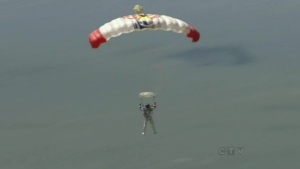 CTV Toronto: Daredevil leaps from space