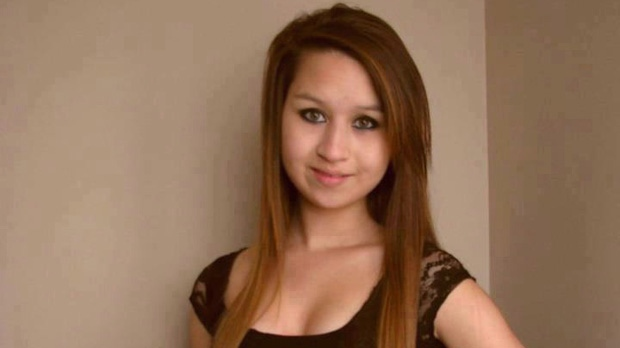 Amanda Todd, 15, is seen in this image from her Facebook page.