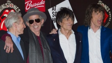 The Rolling Stones in July, 2012.