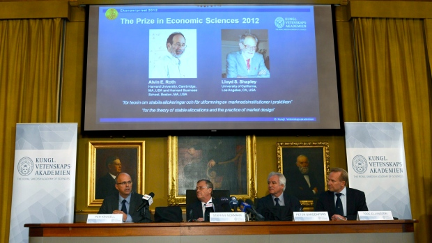 Alvin Roth Lloyd Shapley Nobel Economics