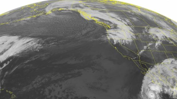 NOAA, satellite image, Pacific Northwest