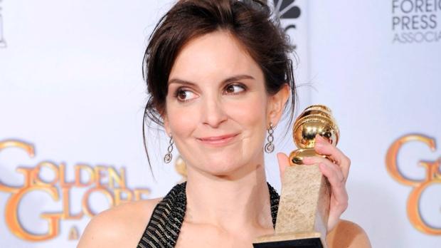 Tina Fey hosting Golden Globes