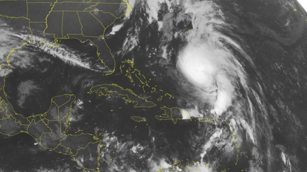 Hurricane Rafael to hit Bermuda