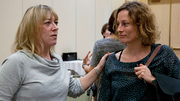 Sarah Harmer and Jody Williams