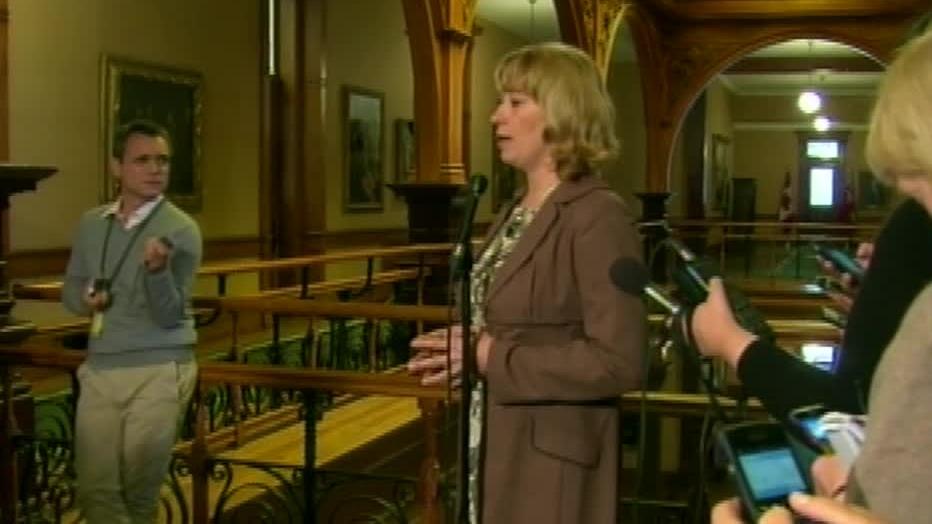 Ontario Education Minister Laurel Broten speaks in Toronto, Ont. in Oct. 2012.