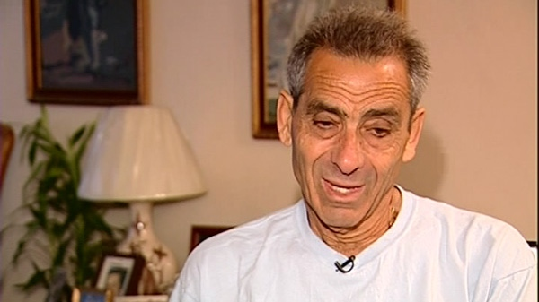 73-year-old Spyros Montzenigos is preparing to run his 50th marathon in Greece later this month (Oct. 12, 2010)