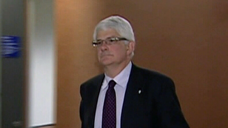 Sylvain Lussier announced he is stepping down from his role as chief prosecutor in the Quebec corruption inquiry. (CTV)
