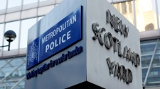 New Scotland Yard, London Metropolitan Police logo