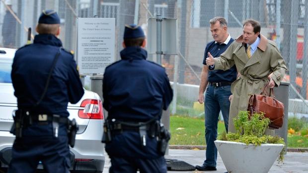 U.S. Embassy evacuated in Stockholm