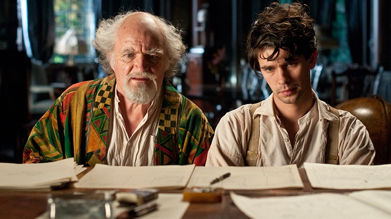 Jim Broadbent and Ben Whislaw in Warner Bros. Canada's ' 'Cloud Atlas.'