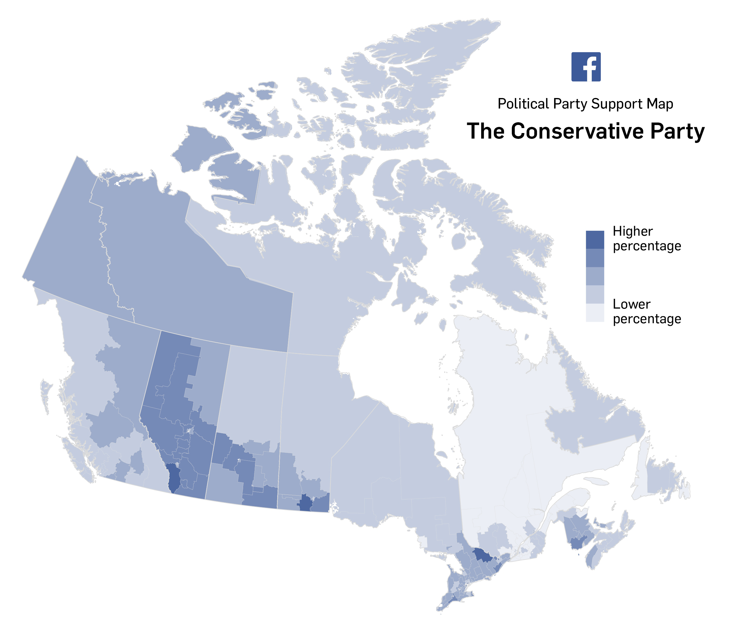 Map Of Canada Interactive.Interactive Facebook Party Support Maps