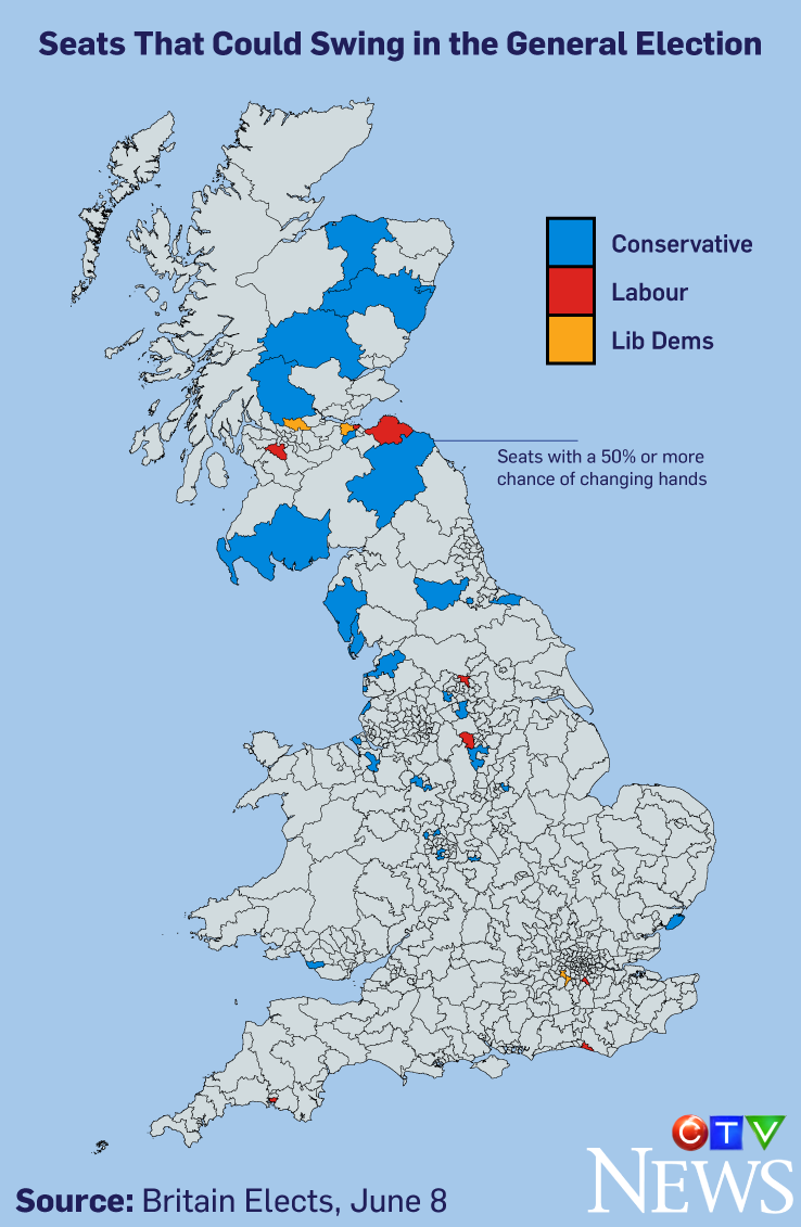 Who\'s who, what\'s at stake in Britain\'s unexpected election | CTV News