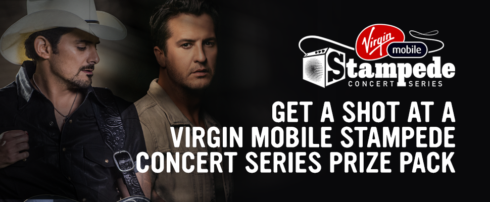 Virgin Mobile Stampede Concert Series 2018